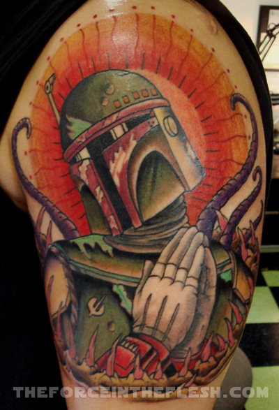 There is a whole entire book on Star Wars tattoos, The Force in the Flesh.
